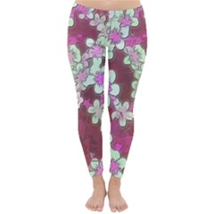 Lovely Floral 29 B Classic Winter Leggings by MoreColorsinLife