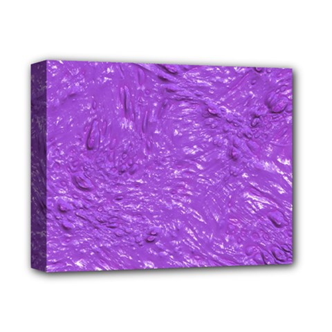 Thick Wet Paint I Deluxe Canvas 14  X 11  by MoreColorsinLife