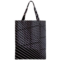 Abstract Architecture Pattern Zipper Classic Tote Bag by Nexatart