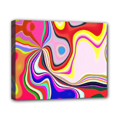 Colourful Abstract Background Design Canvas 10  X 8  by Nexatart