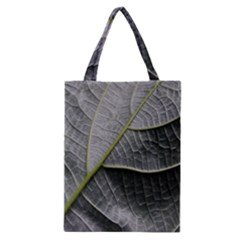 Leaf Detail Macro Of A Leaf Classic Tote Bag by Nexatart