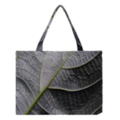 Leaf Detail Macro Of A Leaf Medium Tote Bag by Nexatart