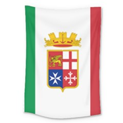 Naval Ensign Of Italy Large Tapestry by abbeyz71