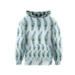 Background Of Beautiful Peacock Feathers Kids  Zipper Hoodie