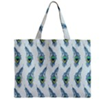 Background Of Beautiful Peacock Feathers Zipper Mini Tote Bag