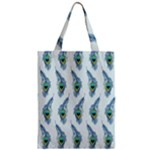 Background Of Beautiful Peacock Feathers Zipper Classic Tote Bag
