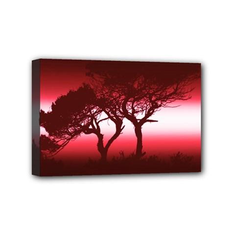 Sunset Mini Canvas 6  X 4  by Valentinaart