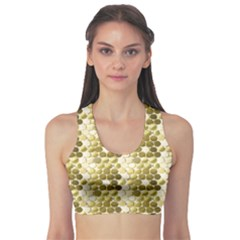 Cleopatras Gold Sports Bra by psweetsdesign