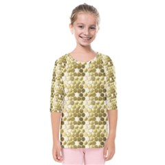 Cleopatras Gold Kids  Quarter Sleeve Raglan Tee by psweetsdesign