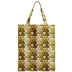 Cleopatras Gold Zipper Classic Tote Bag by psweetsdesign
