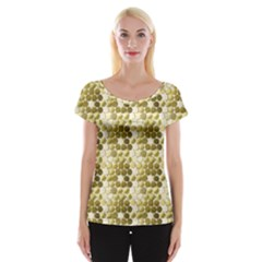 Cleopatras Gold Cap Sleeve Tops by psweetsdesign