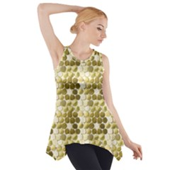Cleopatras Gold Side Drop Tank Tunic by psweetsdesign