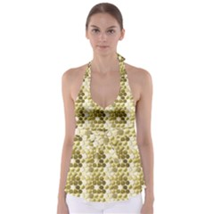 Cleopatras Gold Babydoll Tankini Top by psweetsdesign