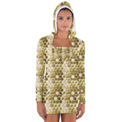 Cleopatras Gold Women s Long Sleeve Hooded T Shirt by psweetsdesign