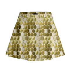Cleopatras Gold Mini Flare Skirt by psweetsdesign