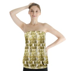 Cleopatras Gold Strapless Top by psweetsdesign