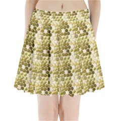 Cleopatras Gold Pleated Mini Skirt by psweetsdesign
