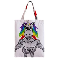 Angry Unicorn Classic Tote Bag by KAllan