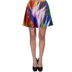 Palms02 Skater Skirt by psweetsdesign