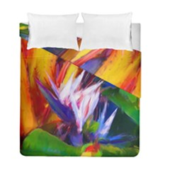 Palms02 Duvet Cover Double Side (full/ Double Size) by psweetsdesign