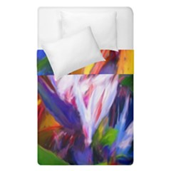 Palms02 Duvet Cover Double Side (single Size) by psweetsdesign