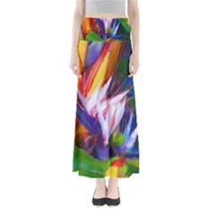 Palms02 Maxi Skirts by psweetsdesign