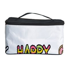 Lucky Happt Good Sign Star Cosmetic Storage Case by Mariart