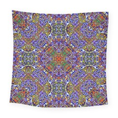 Oriental Pattern 01a Square Tapestry (large) by MoreColorsinLife