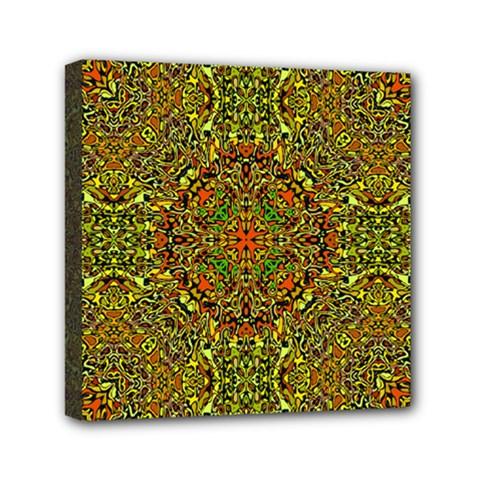 Oriental Pattern 01b Mini Canvas 6  X 6  by MoreColorsinLife