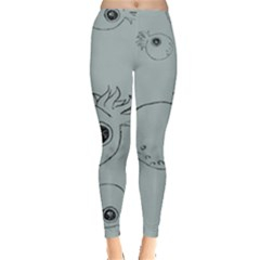 Tiny Octopus Leggings  by Mariart