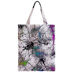 Color Fun 03f Zipper Classic Tote Bag by MoreColorsinLife