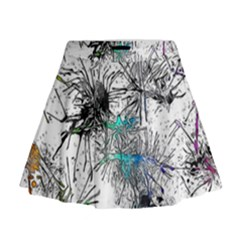 Color Fun 03f Mini Flare Skirt by MoreColorsinLife