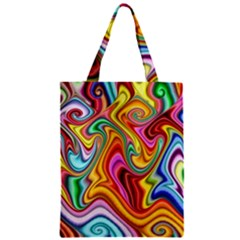 Rainbow Gnarls Classic Tote Bag by WolfepawFractals