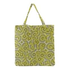 Broken Pattern D Grocery Tote Bag by MoreColorsinLife
