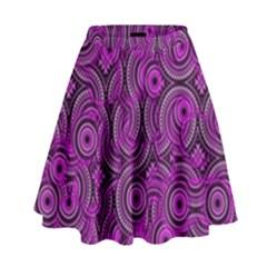 Broken Pattern B High Waist Skirt by MoreColorsinLife