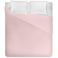 Blush Pink Duvet Cover Double Side (california King Size) by SimplyColor