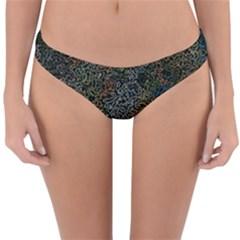 Chaos B2 Reversible Hipster Bikini Bottoms by MoreColorsinLife