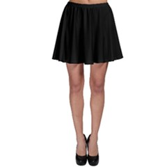 Simply Black Skater Skirt by SimplyColor