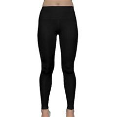 Simply Black Classic Yoga Leggings by SimplyColor