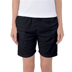 Simply Black Women s Basketball Shorts by SimplyColor
