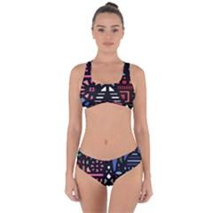 7 Wonders World Criss Cross Bikini Set