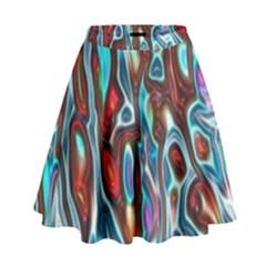 Dizzy Stone Wave High Waist Skirt by Mariart