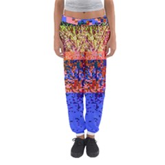 Glitchdrips Shadow Color Fire Women s Jogger Sweatpants by Mariart