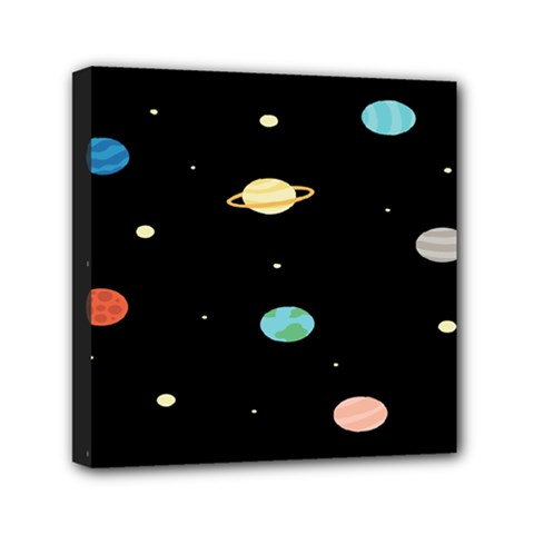 Planets Space Mini Canvas 6  X 6  by Mariart