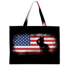 Honor Our Heroes On Memorial Day Zipper Large Tote Bag by Catifornia