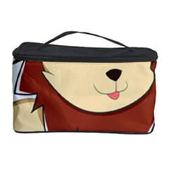 Happy Cartoon Baby Lion Cosmetic Storage Case by Catifornia