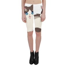 Ragdoll Cat For Life Cropped Leggings  by Catifornia