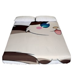 Ragdoll Cat For Life Fitted Sheet (king Size) by Catifornia