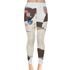 Ragdoll Cat For Life Classic Winter Leggings by Catifornia