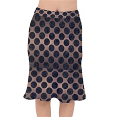 CIR2 BK-MRBL BZ-MTL (R) Mermaid Skirt